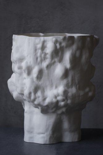 Керамическая кашпо ручной работы